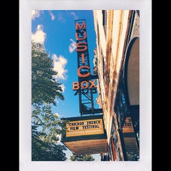 Photo taken at Music Box Theatre by Eric P. on 7/29/2013