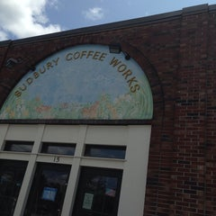 Photo taken at Sudbury Coffee Works by Chuck C. on 7/29/2014