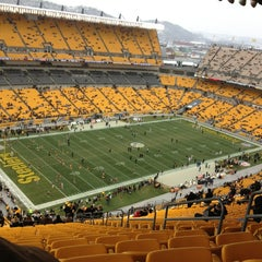 Photo taken at Heinz Field by laura w. on 12/30/2012