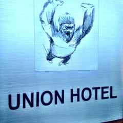 Photo taken at Union Hotel Brooklyn by Ryan W. on 6/18/2013