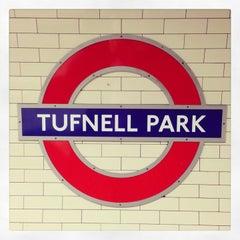 Photo taken at Tufnell Park London Underground Station by Demsi on 9/25/2013