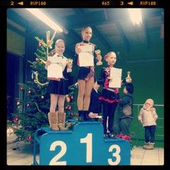 Photo taken at LSPA ledus halle by Elen on 12/29/2012