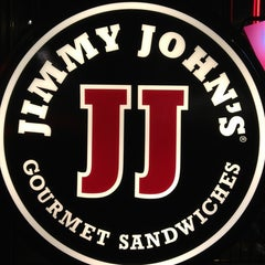Photo taken at Jimmy John's by Katie F. on 3/17/2013
