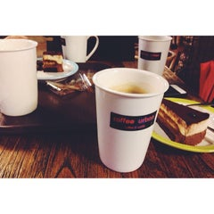 Photo taken at Coffee Urban by occ p. on 11/24/2013