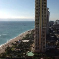 Photo taken at Trump International Beach Resort by Viktoria R. on 1/8/2013