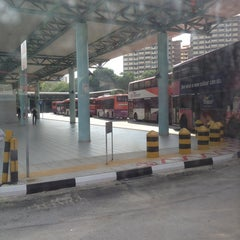 Photo taken at Hougang Central Bus Interchange by Lroy B. on 1/17/2013