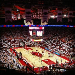 Photo taken at Bud Walton Arena by Justin C. on 12/1/2012