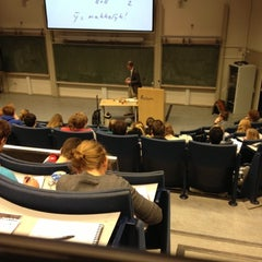 Photo taken at Aula Congress Centre by Stijn d. on 11/16/2012