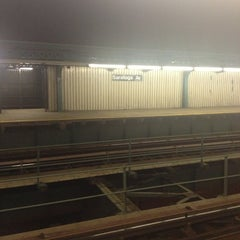 Photo taken at MTA Subway - Saratoga Ave (3) by Gregory Guy W. on 12/24/2012