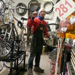 Photo taken at Merlino Cycling by Giovanni Luigi B. on 11/20/2012