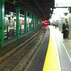 Photo taken at MBTA Park Street Station by Life(Liss) L. on 5/8/2013