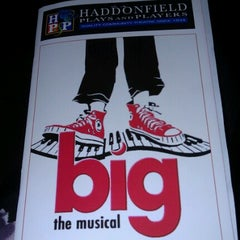 Photo taken at Haddonfield Plays And Players by Veronica D. on 12/1/2012