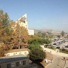 Photo taken at University Library - Cal Poly Pomona by Korbyn D. on 11/26/2012