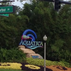 Photo taken at Aquatica Orlando by Pam D. on 5/16/2013