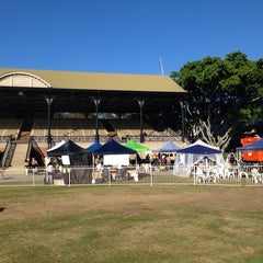 Photo taken at Eagle Farm Racecourse by Dom H. on 5/24/2014