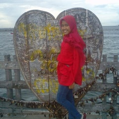 Photo taken at Dermaga Hati,Ancol Beach Pool. by Emmy S. on 1/5/2014