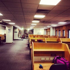 Photo taken at The Baillieu Library by Thomas W. on 8/14/2013