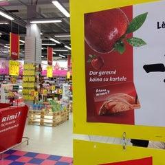 Photo taken at Rimi Hypermarket by D N A on 11/20/2012
