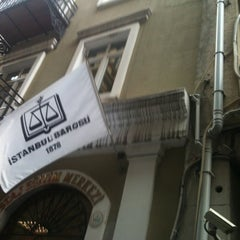 Photo taken at İstanbul Barosu by Zagor A. on 11/17/2012