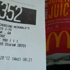Photo taken at McDonald's by Legendary on 11/28/2012