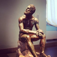 Photo taken at Palazzo Massimo Alle Terme - Museo Nazionale Romano by Dan C. on 7/27/2013