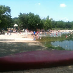 Photo taken at Menomonee Park by Iny M. on 7/6/2013