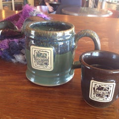 Photo taken at Aspen Coffee and Tea by Jadwiga Anna Maria &. on 1/7/2015