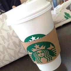 Photo taken at Starbucks   ستاربكس by Ghadeer_HQ4 on 1/1/2013