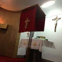 Photo taken at Igreja Nossa Senhora de Fátima e São Jorge by Paulo A. on 2/7/2013