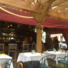 Photo taken at Trattoria Isabella by Tyler B. on 8/8/2013
