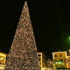 Photo taken at Piazza Tasso by Cassandra P. on 11/24/2012