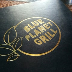 Photo taken at Blue Planet Grill by Moshe L. on 11/26/2012