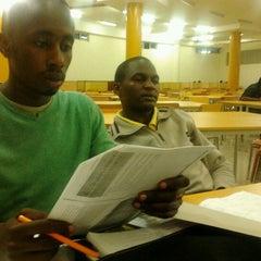 Photo taken at Kenyatta University Post Modern Library by Gadson G. on 2/18/2013