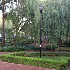 Photo taken at Parque Arboledas by Luis O. on 7/1/2013