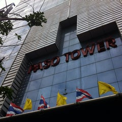 Photo taken at Paso Tower (ปาโซ่ ทาวเวอร์) by Biere S. on 7/7/2014