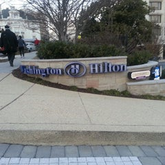 Photo taken at Washington Hilton by Davut S. on 2/25/2013
