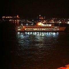 Photo taken at Karaköy Liman Lokantası by Deniz T. on 1/25/2013