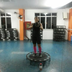 Photo taken at Academia Total Gym by Danubia C. on 11/15/2013