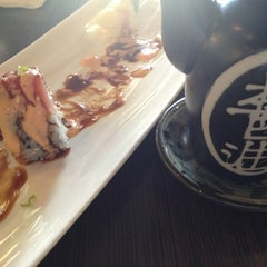 Photo taken at Wasabi Bistro And Sushi Bar by Brittney N. on 3/15/2013