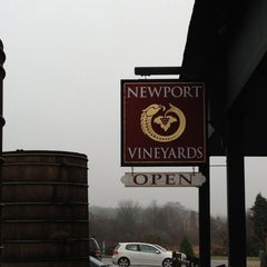 Photo taken at Newport Vineyards by Karen G. on 12/8/2012