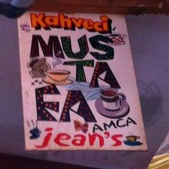 Photo taken at Kahveci Mustafa Amca Jean's by Emrah on 7/3/2013
