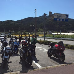 Photo taken at 道の駅 信州新野千石平 by シンノスケ @. on 10/4/2015