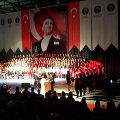 Photo taken at FMV Ayazağa Işık Lisesi by Ceren Y. on 10/29/2013