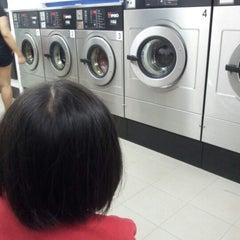 Photo taken at WonderWash Laundromat by Aaron A. on 1/19/2013