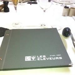Photo taken at Restaurant Hôtel Les éleveurs by Gerleen D. on 4/7/2013