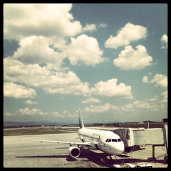 Photo taken at Sofia International Airport (SOF) by Bebo H. on 7/4/2013
