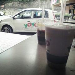 Photo taken at Yoyo Cafe by Sandra J. on 2/18/2013
