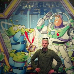 Photo taken at Buzz Lightyear Astro Blasters by John J. on 4/24/2013