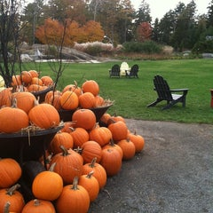 Photo taken at Coastal Maine Botanical Gardens by Foodie P. on 10/19/2013