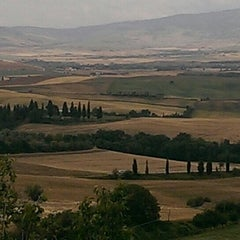 Photo taken at Pienza by Михаил М. on 6/15/2015